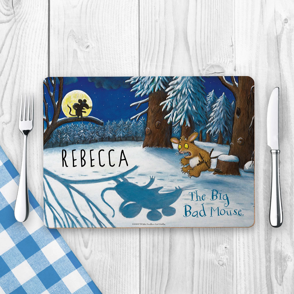 Big Bad Mouse Personalised Placemat (Lifestyle)