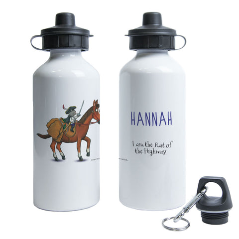 Highway Rat Personalised Water Bottle