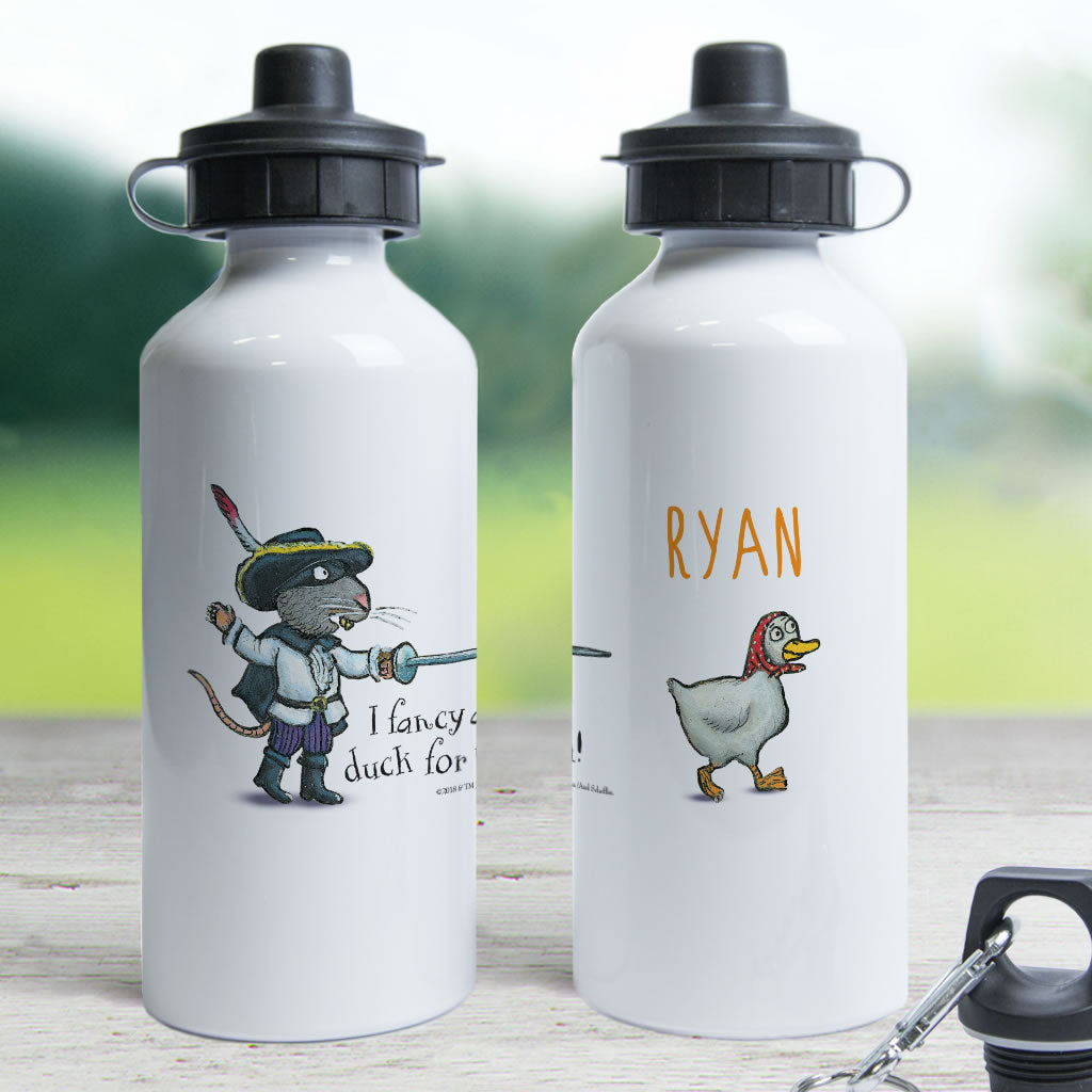 """Duck for tea"" Highway Rat Personalised Water Bottle (Lifestyle)"