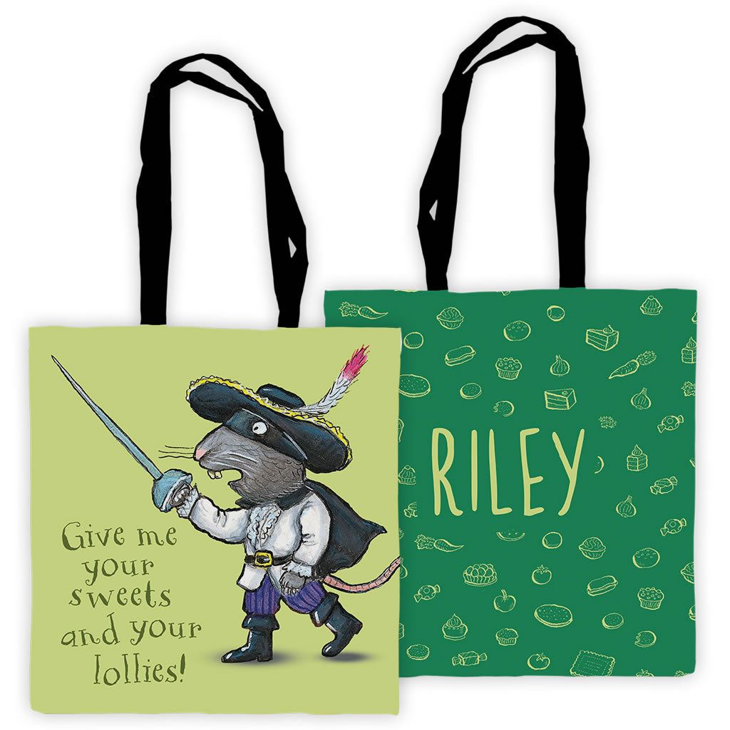 3d21644e33ca Green Highway Rat Personalised Edge to Edge Tote Bag – Gruffalo