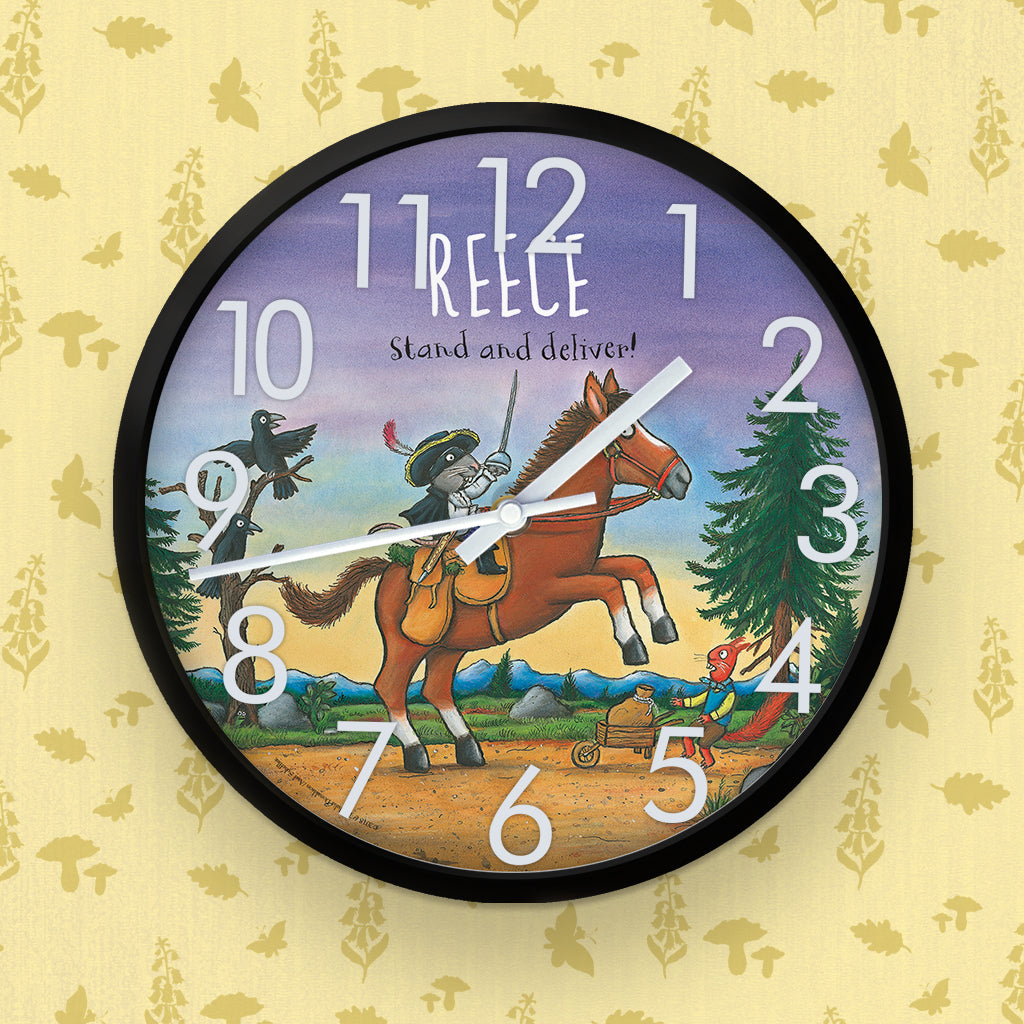 Highway Rat  Personalised Clock