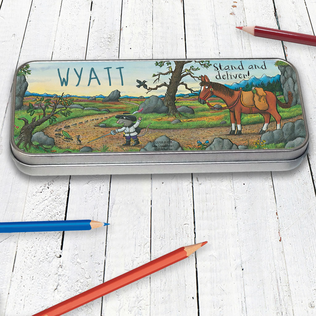 Highway Rat Personalised Pencil Tin (Lifestyle)