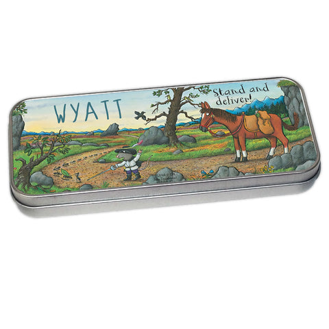 Highway Rat Personalised Pencil Tin