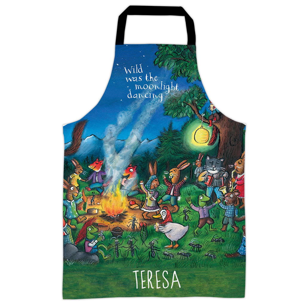Moonlight Dancing  Personalised Apron