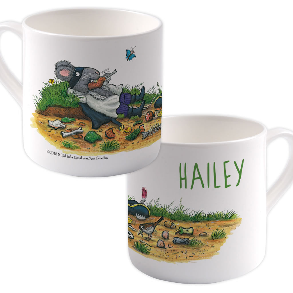 Greedy Highway Rat Personalised Large Bone China Mug