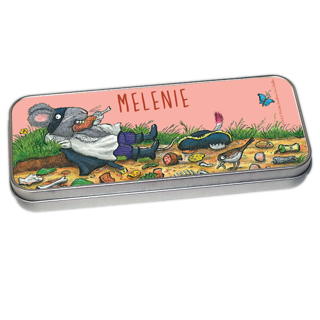 Greedy Highway Rat Personalised Pencil Tin