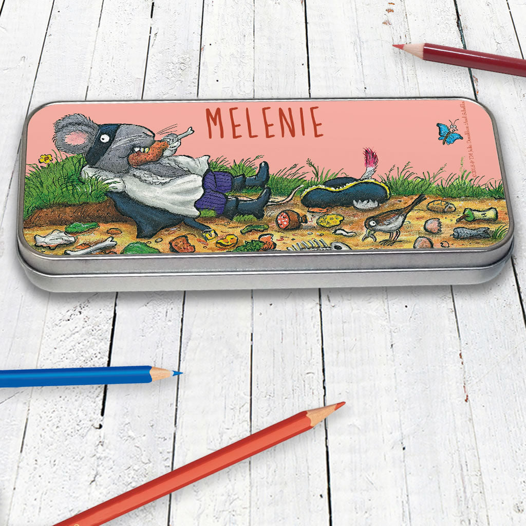 Greedy Highway Rat Personalised Pencil Tin (Lifestyle)