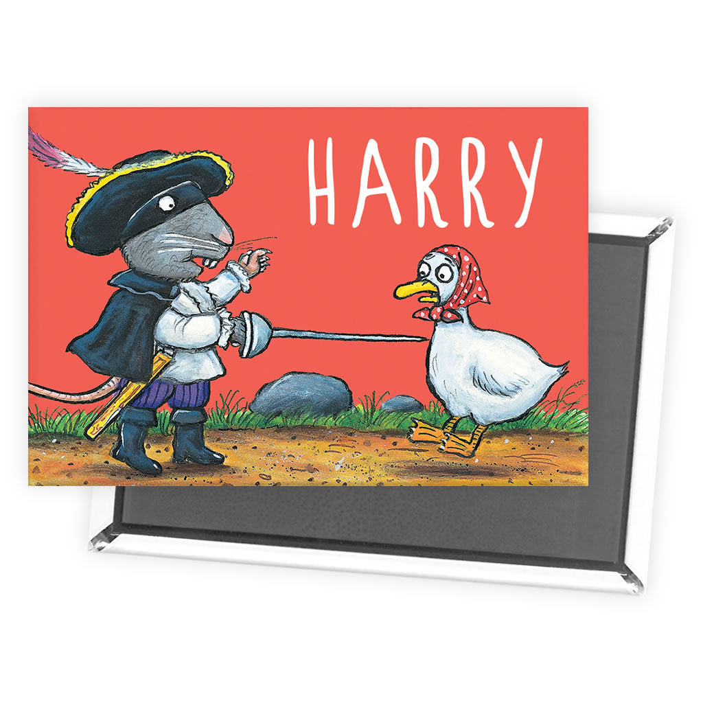 Red Highway Rat Personalised Magnet