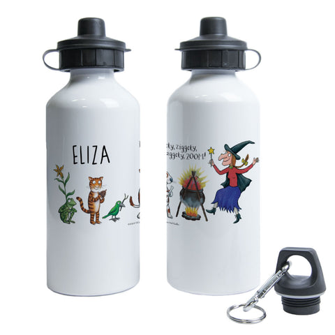 ZOOM! Room on the Broom Personalised Water Bottle