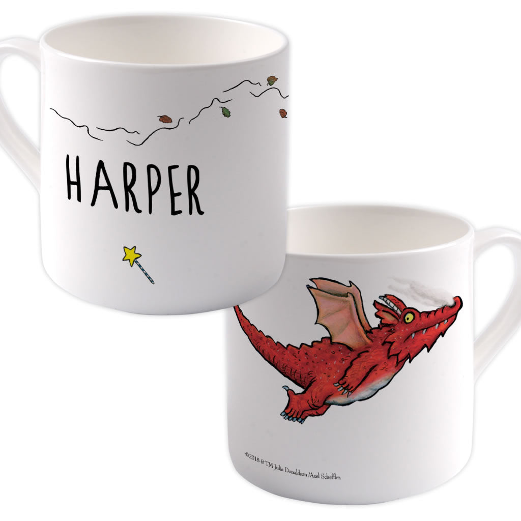 Dragon Room on the Broom Personalised Large Bone China Mug