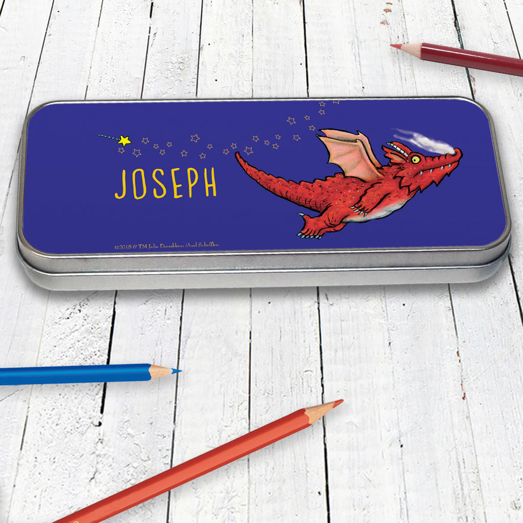Flying Dragon room on the Broom Personalised Pencil Tin (Lifestyle)