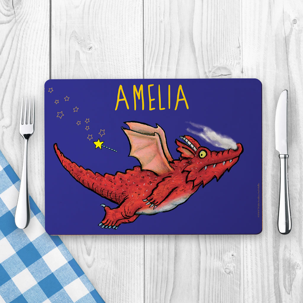 Room on the Broom Personalised Placemat (Lifestyle)