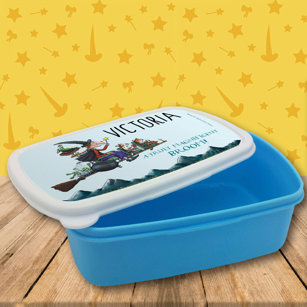 Magnificent Broom Personalised Lunch Box