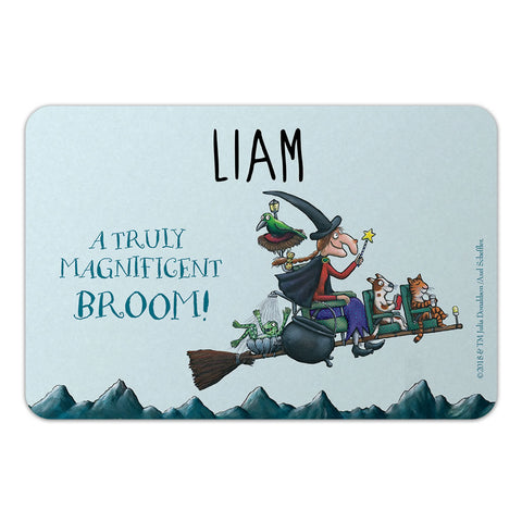 Personalised Magnificent Broom Personalised Door Plaque