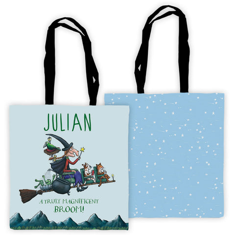 Magnificent Broom Personalised Edge to Edge Tote Bag