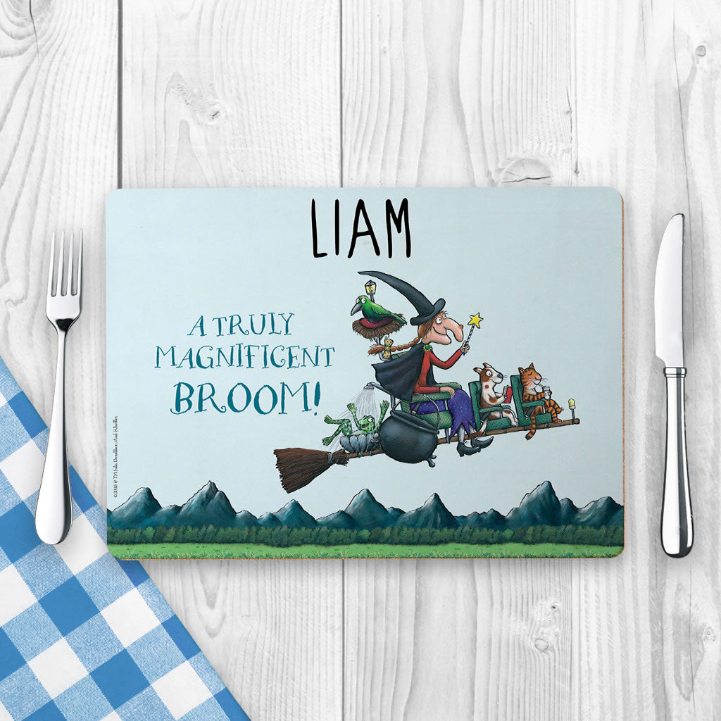 Magnificent Broom Personalised Placemat (Lifestyle)