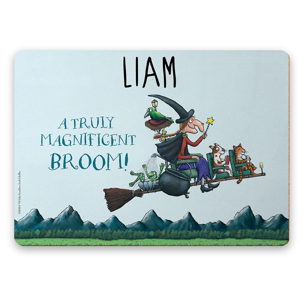 Magnificent Broom Personalised Placemat