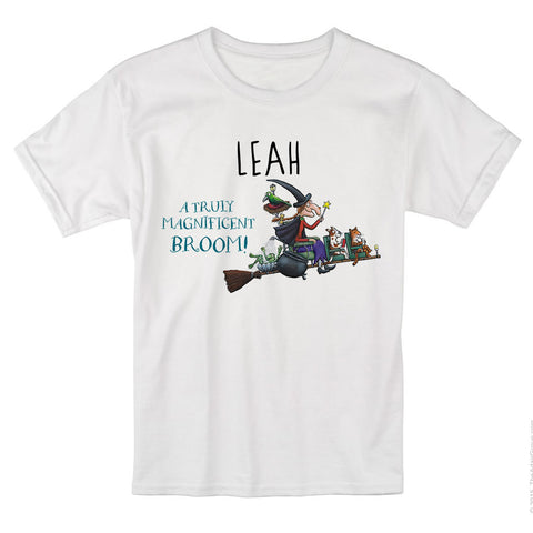 Magnificent Broom Personalised T-shirt