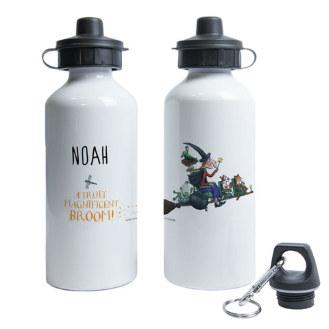 Magnificent Broom Personalised Water Bottle