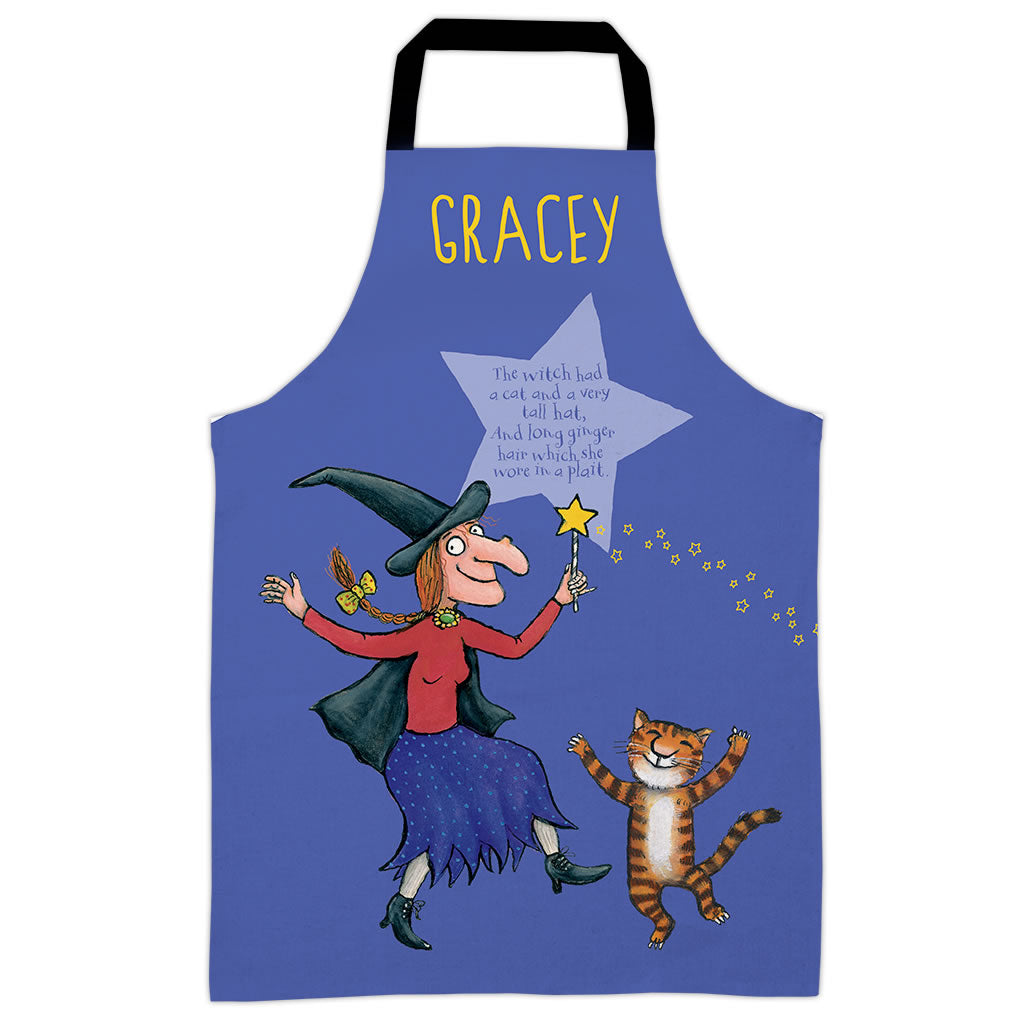 Purple Room on the Broom  Personalised Apron