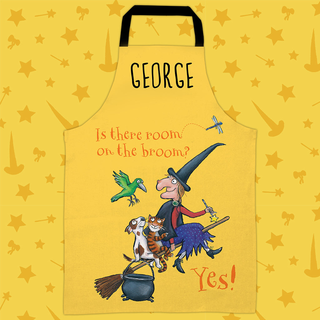 Yellow Yes! Personalised Apron