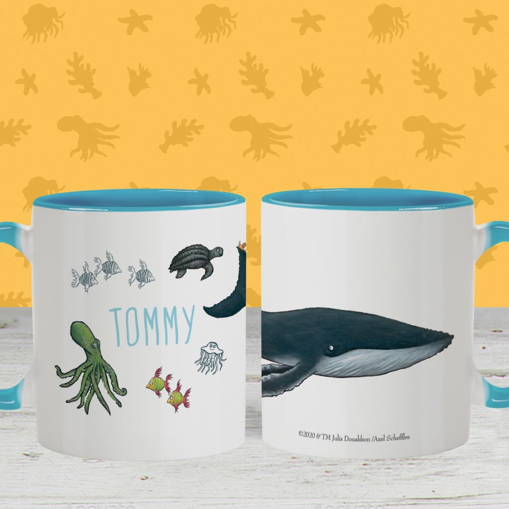 This is the sea so wild and free Personalised Colour Insert Mug 2