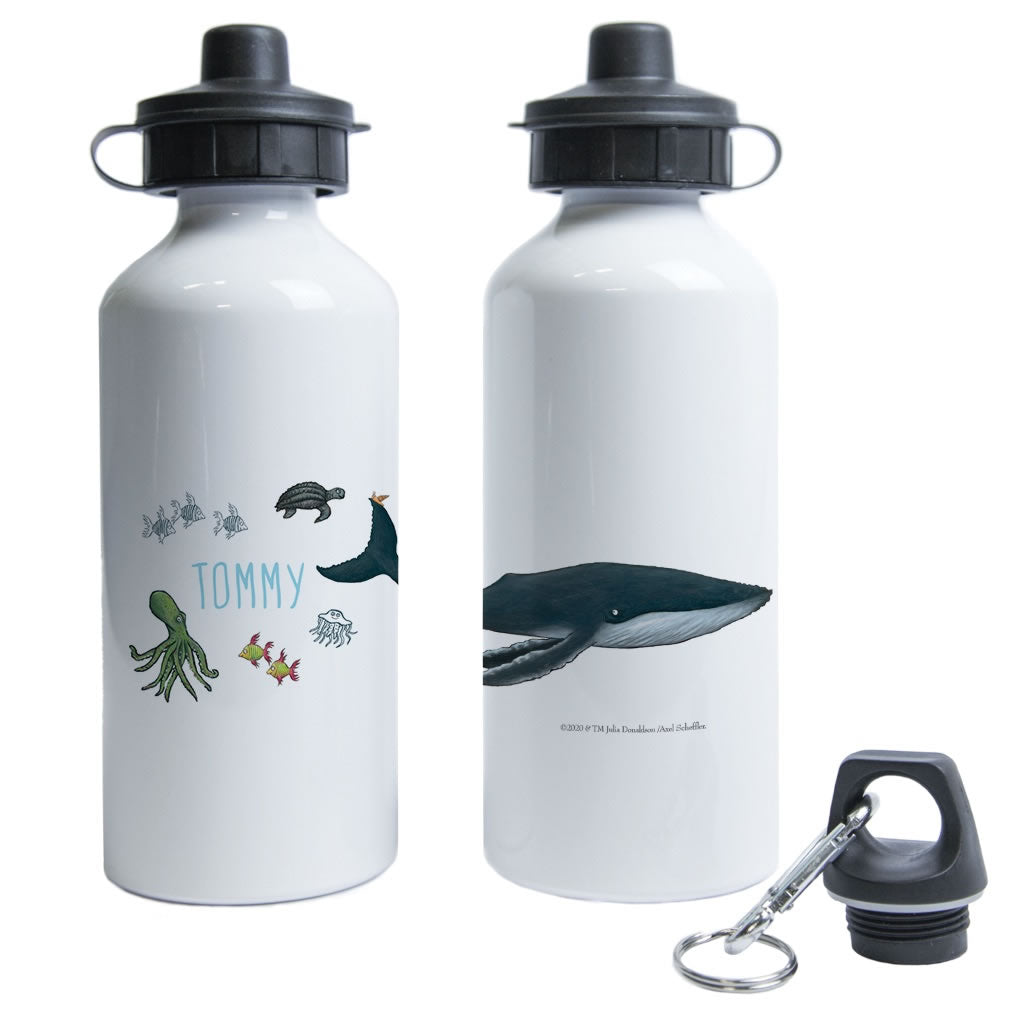 This is the sea so wild and free Personalised Water Bottle