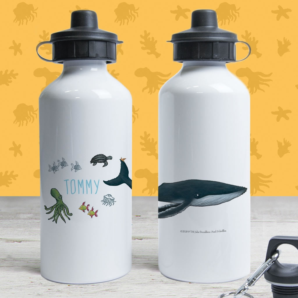This is the sea so wild and free Personalised Water Bottle 2