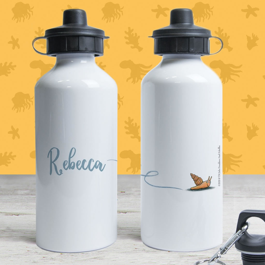 Snail Personalised Water Bottle 2