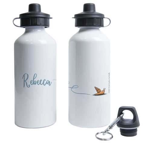 Snail Personalised Water Bottle
