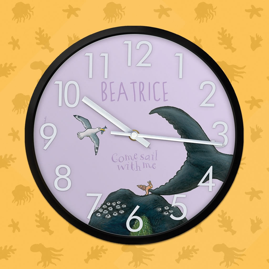 Come sail with me Personalised Clock 2