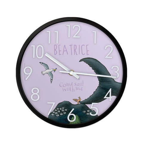 Come sail with me Personalised Clock