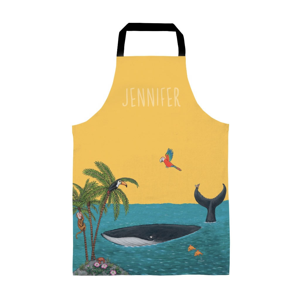 Palm Trees Personalised Apron