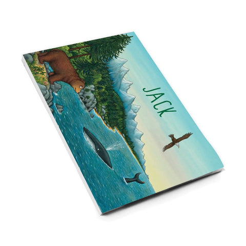 Mountains Personalised A5 Notepad
