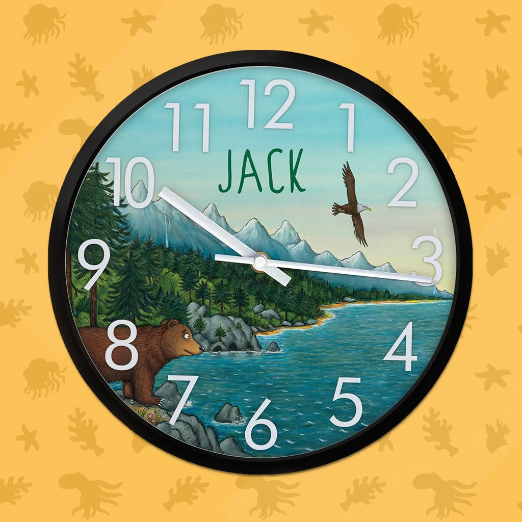 Mountains Personalised Clock 2