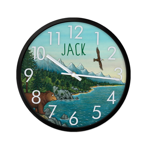Mountains Personalised Clock