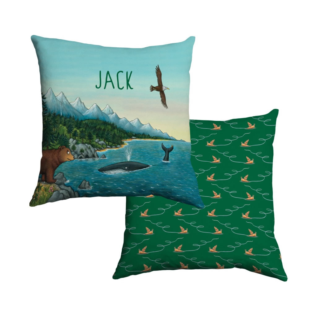 Mountains Personalised Cushion