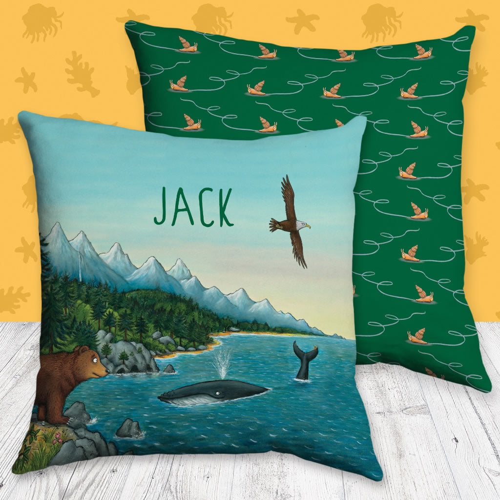 Mountains Personalised Cushion 2