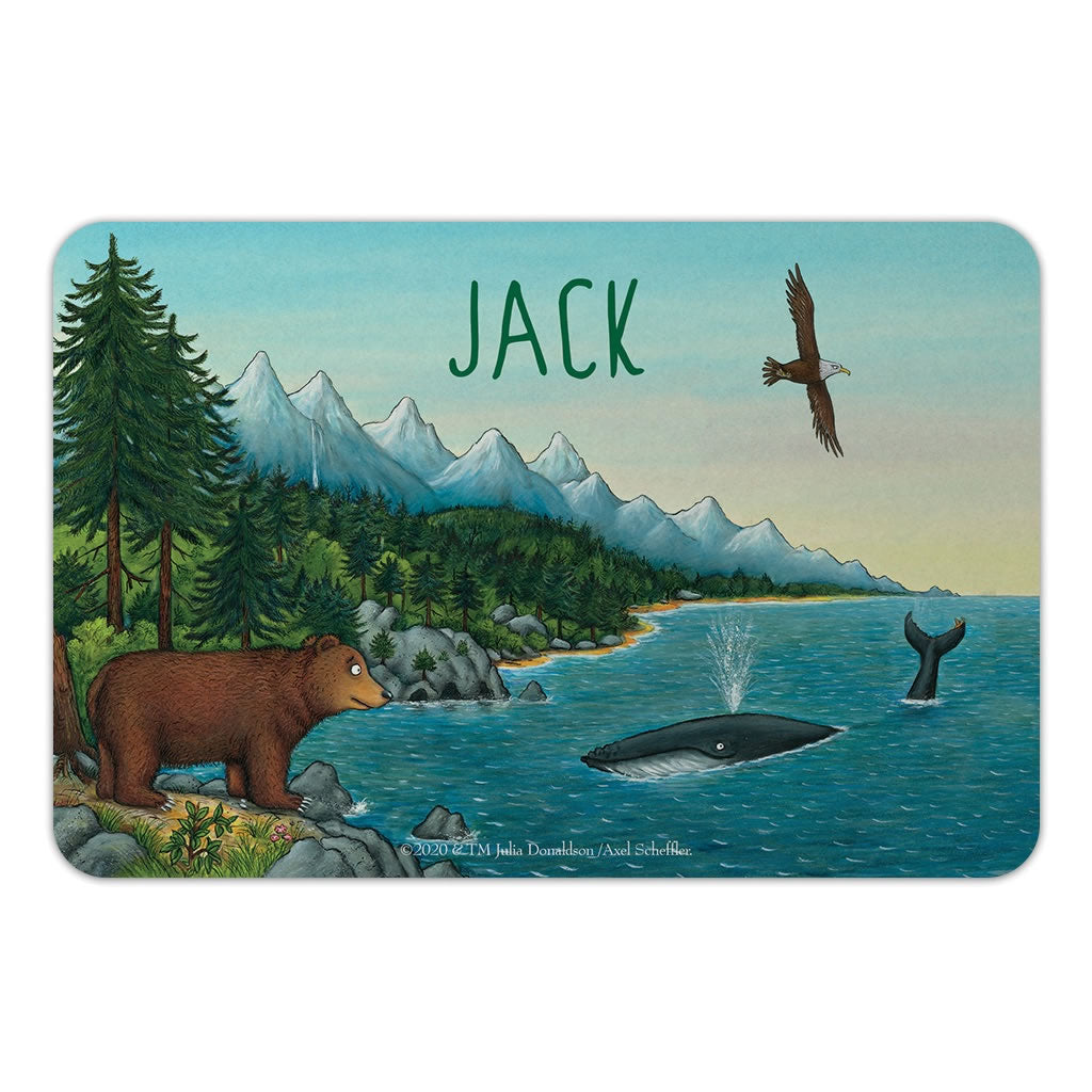 Mountains Personalised Door Plaque