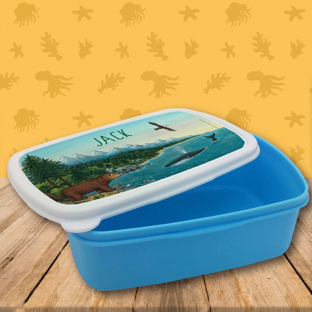 Mountains Personalised Lunch Box 2