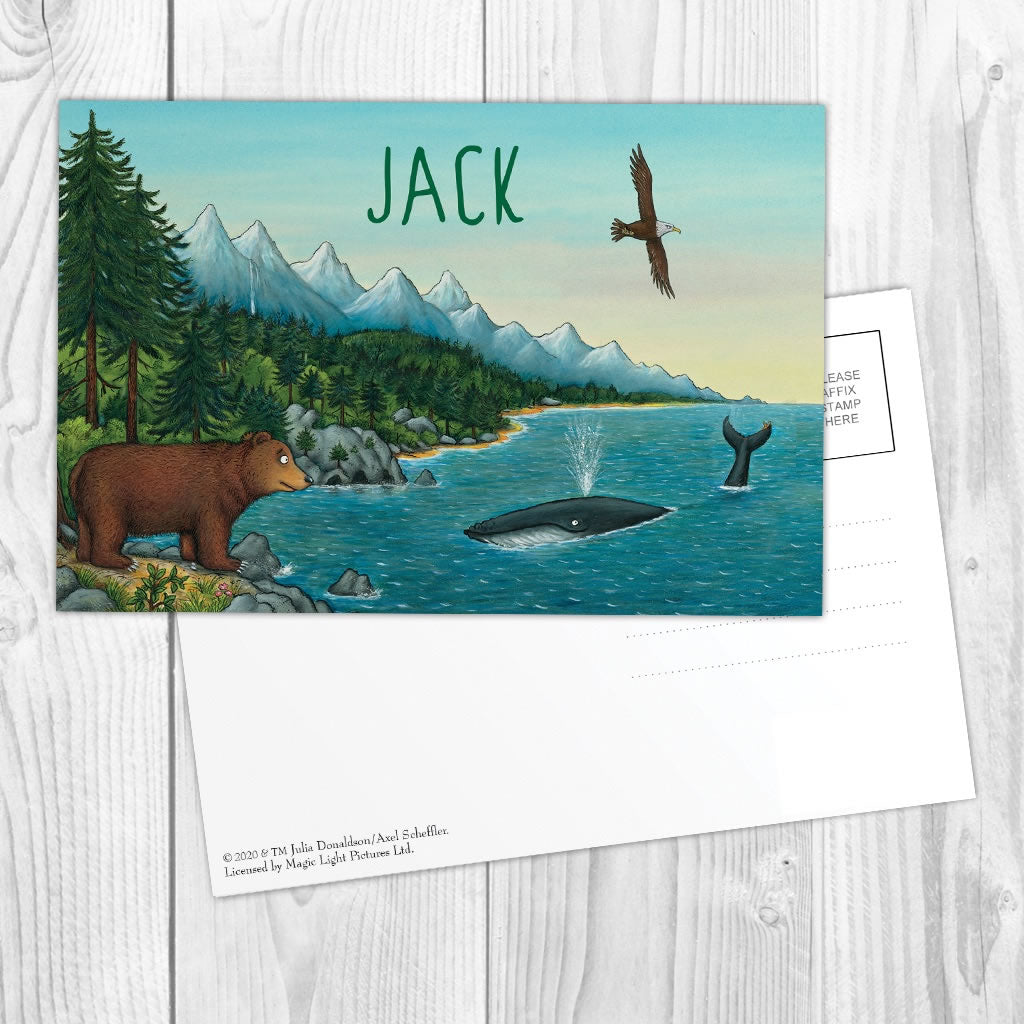 Mountains Personalised Postcard Pack of 8 2