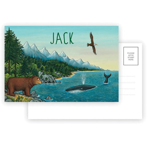 Mountains Personalised Postcard Pack of 8