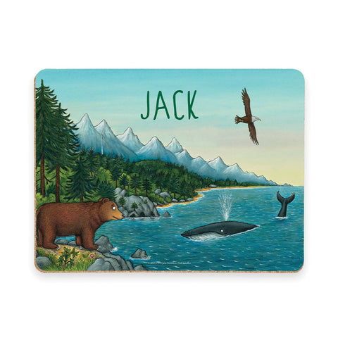 Mountains Personalised placemat