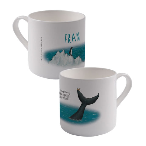 The tiny snail Personalised Large Bone China Mug