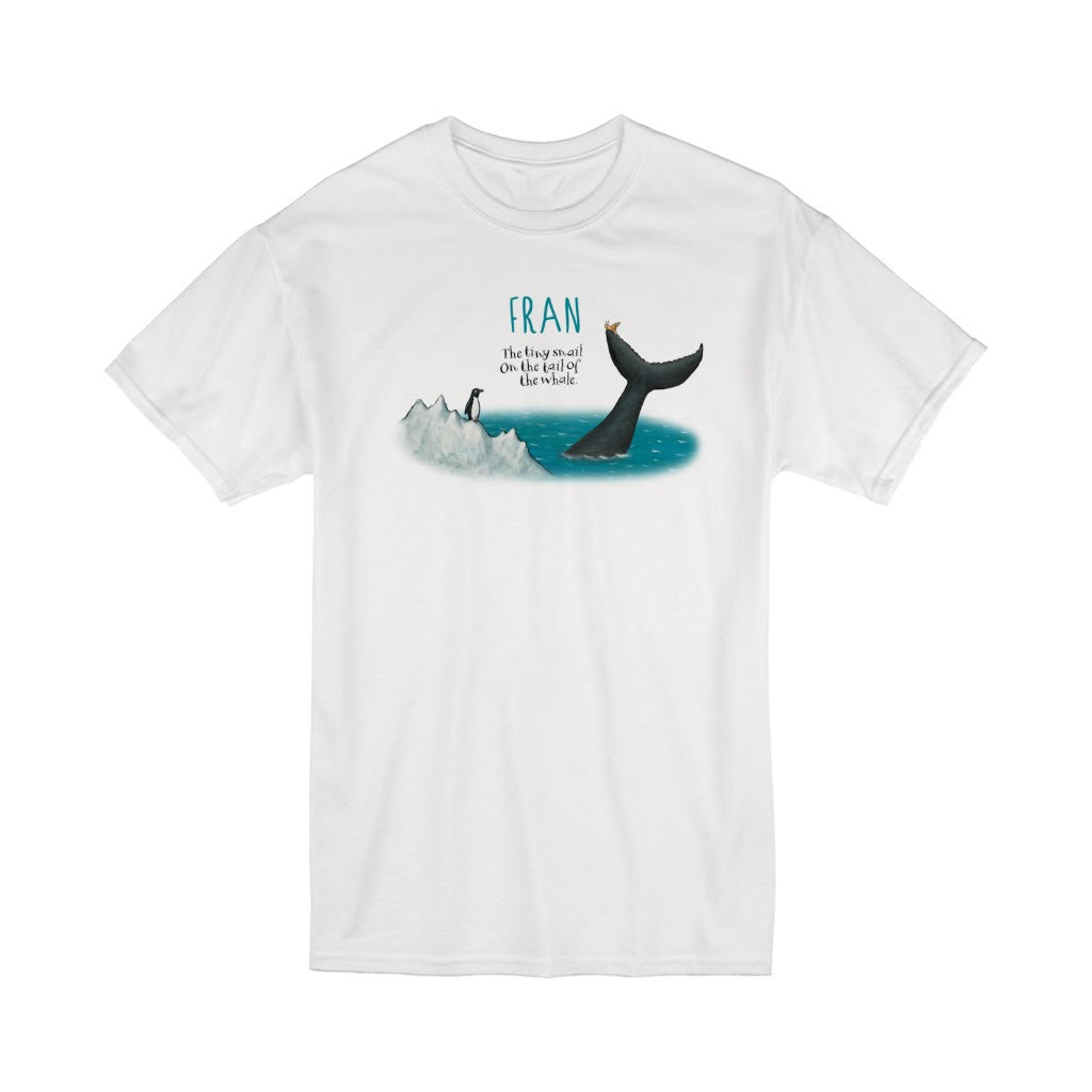 The tiny snail Personalised T-Shirt