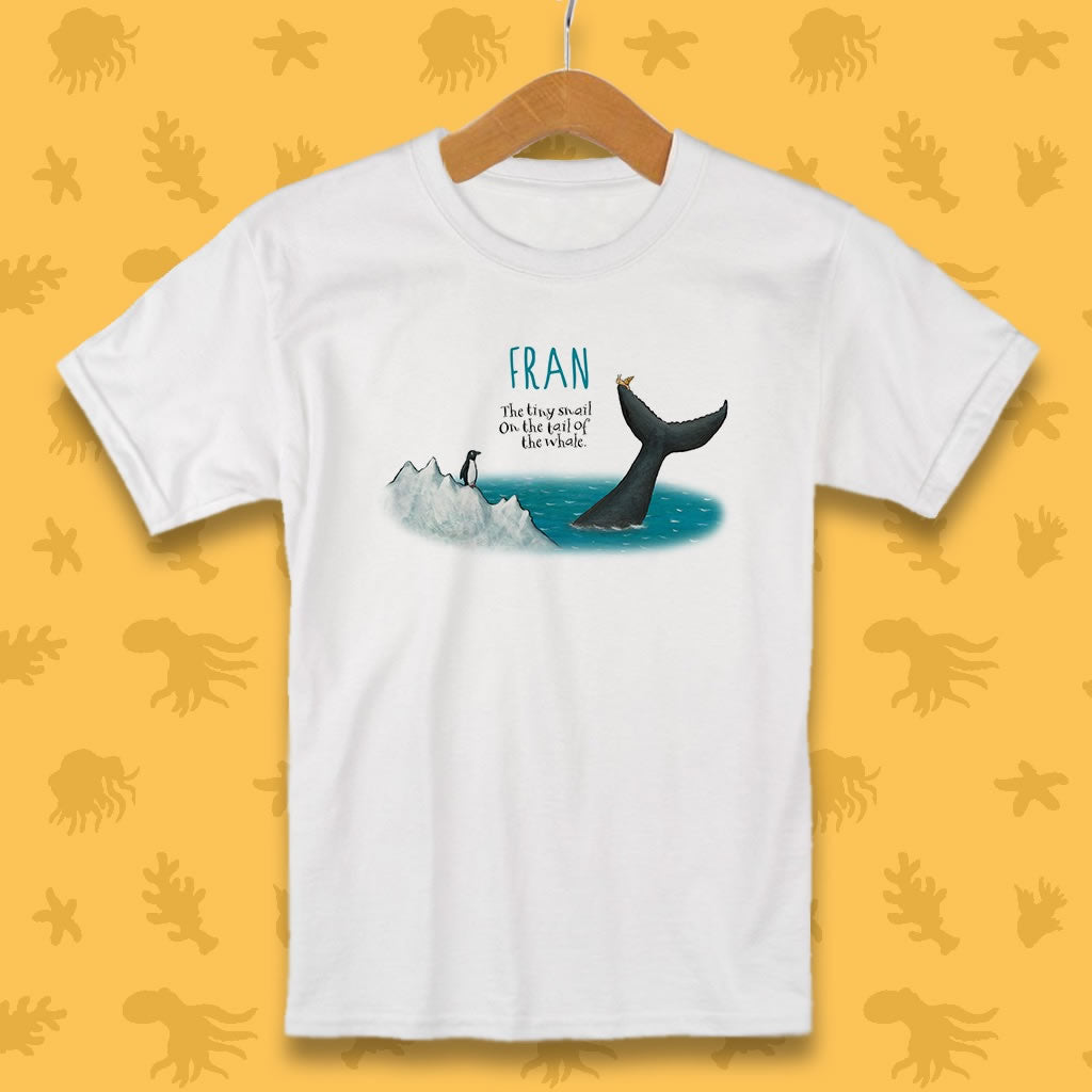 The tiny snail Personalised T-Shirt 2