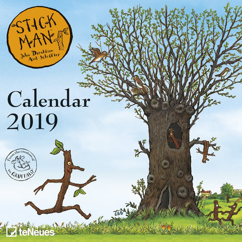 Stick Man Mini Grid Calendar 2019 Accessories