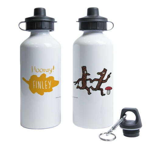Stick Man Personalised Water Bottle