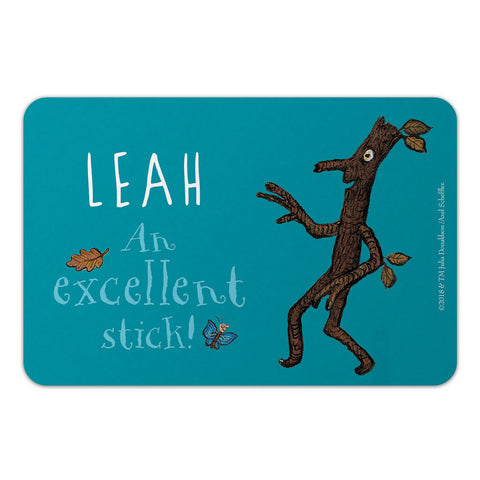 Personalised Excellent Stick! Personalised Door Plaque