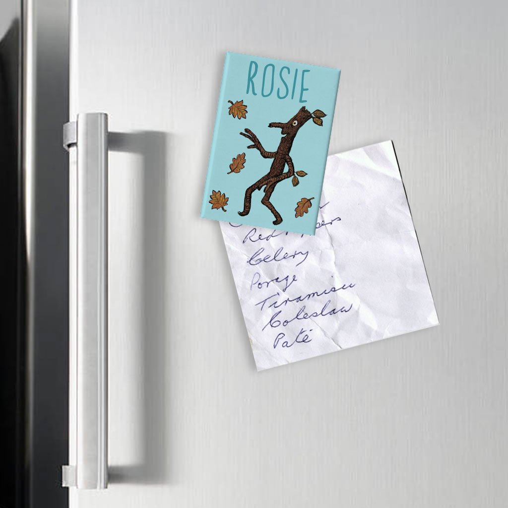 Blue Stick Man Personalised Magnet (Lifestyle)